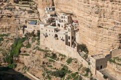 Monastero di St George, Cisgiordania, Israele fotografia stock