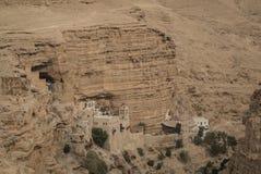 Monastero di St George, Wadi Qelt, Israele Immagini Stock Libere da Diritti