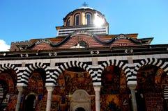 Monastero di St John di Rila immagine stock libera da diritti