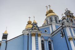 Monastero di St Michael a Kiev, Ucraina Fotografie Stock Libere da Diritti
