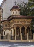Monastero di Stavropoleos a Bucarest Immagine Stock