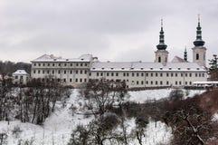 Monastero di Strahov, Praga, repubblica Ceca Fotografia Stock