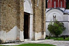 Monastero di Studenica Immagine Stock