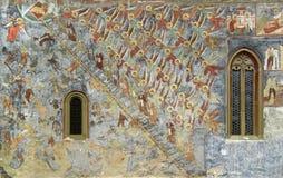 Monastero di Sucevita Fotografie Stock Libere da Diritti