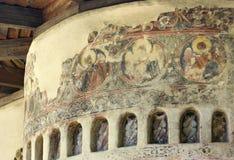 Monastero di Sucevita Immagini Stock Libere da Diritti