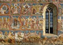 Monastero di Sucevita Fotografia Stock Libera da Diritti