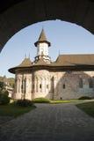 Monastero di Sucevita Immagini Stock