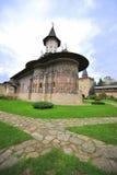 Monastero di Sucevita, Moldavia (Bucovina), Romania Immagini Stock Libere da Diritti