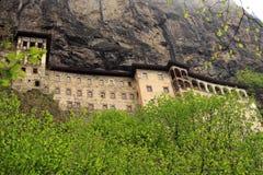 Monastero di Sumela Immagini Stock Libere da Diritti