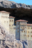 Monastero di Sumela immagini stock