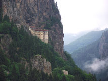 Monastero di Sumela a Trabzon, Turchia Fotografia Stock