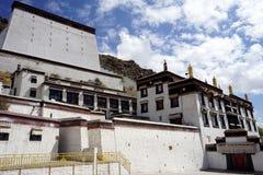 Monastero di Tashilhunpo Fotografia Stock Libera da Diritti