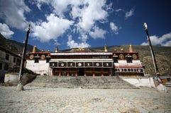 Monastero di Tashilhunpo di Buddhism nel Tibet Fotografie Stock