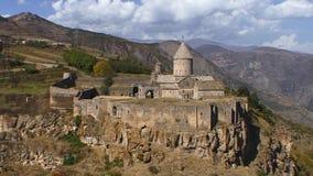 Monastero di Tatev stock footage