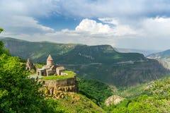 Monastero di Tatev dell'armeno fotografia stock