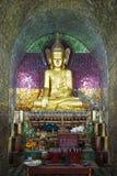 Monastero di Thale Oo Fotografie Stock