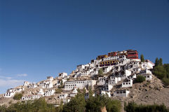 Monastero di Thikse in Ladakh Fotografia Stock Libera da Diritti