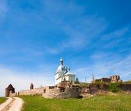Monastero di Transfiguration in Ucraina Fotografie Stock