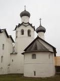 Monastero di trasfigurazione in Staraya Russa Fotografia Stock Libera da Diritti