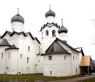 Monastero di trasfigurazione in Staraya Russa Fotografia Stock