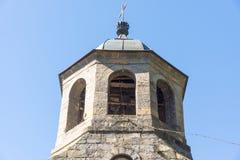 Monastero di Troyan del campanile, Bulgaria Immagine Stock