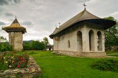 Monastero di umore, Romania Fotografia Stock Libera da Diritti