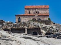 Monastero di Uplistsikhe Immagini Stock Libere da Diritti