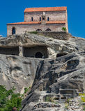 Monastero di Uplistsikhe Immagini Stock