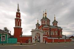 Monastero di Uspensky Brusensky nel Cremlino di Kolomna Fotografie Stock