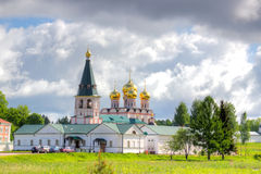 Monastero di Valdai Iversky Bogoroditsky Svyatoozersky Fotografie Stock Libere da Diritti