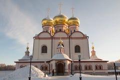 Monastero di Valdai Iversky Svyatoozersky Bogoroditsky in Russia Fotografie Stock