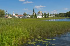 Monastero di Valday Iversky Immagini Stock Libere da Diritti