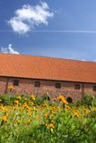 Monastero di Vor Frue, un monastero Carmelitano in Elsinore Helsing Fotografie Stock