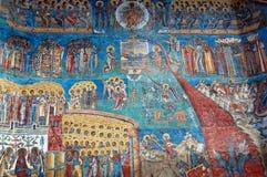 Monastero di Voronet Fotografia Stock