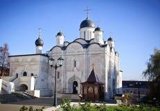 Monastero di Vvedenskiy Vladychnyy in Serpuchov Immagini Stock