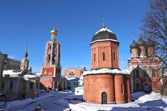 Monastero di Vysokopetrovsky a Mosca Fotografia Stock Libera da Diritti