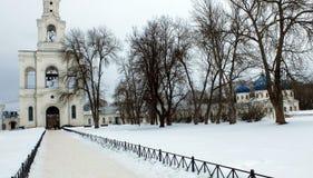 Monastero di Yuryev Fotografie Stock Libere da Diritti