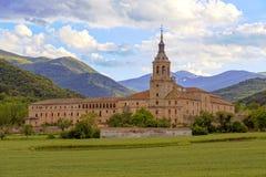 Monastero di Yuso, San Millan de la Cogolla fotografie stock