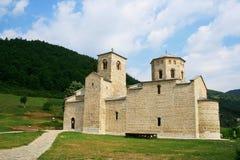 Monastero Djurdjevi Stupovi Fotografia Stock