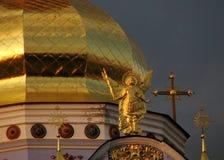 Monastero Dorato-a cupola del ` s di St Michael Immagine Stock Libera da Diritti