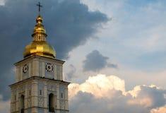 Monastero Dorato-a cupola del ` s di St Michael Fotografie Stock Libere da Diritti