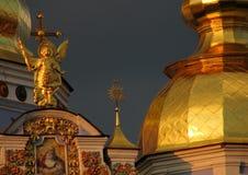Monastero Dorato-a cupola del ` s di St Michael Immagine Stock