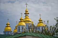 Monastero Dorato-a cupola Kiev del ` s di St Michael Fotografie Stock Libere da Diritti