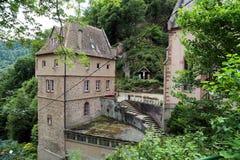 Monastero Dusenbach, Ribeauville, l'Alsazia, Francia Fotografia Stock