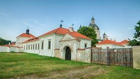 Monastero e chiesa di Pazaislis a Kaunas, Lituania immagini stock