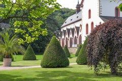 Monastero Eberbach in Germania, Hesse Fotografia Stock Libera da Diritti