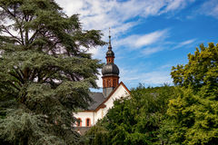 Monastero Eberbach in Germania, Hesse Fotografia Stock