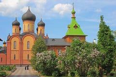 Monastero, Estonia Fotografia Stock