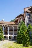 Monastero famoso di Rila, Bulgaria fotografie stock