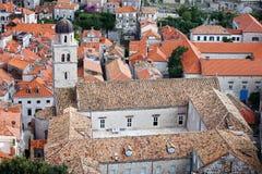 Monastero Franciscan a Dubrovnik fotografia stock